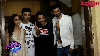 Kalank stars back in Mumbai as Bollywood stars grace 'Kalank' screening - ZOOMDEKHO