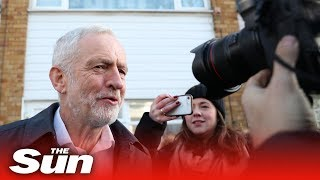 Jeremy Corbyn the morning after seven MPs resign - THESUNNEWSPAPER