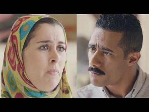 زيارة ليلي لزين القناوي في القسم - مسلسل نسر الصعيد - محمد رمضان