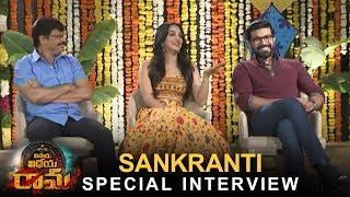 Vinaya Vidheya Rama Team Sankranti Special Interview | Ram Charan | Kiara Advani | Boyapati Srinu - TFPC
