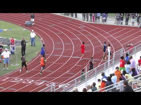 Region II-5A Boys 400 Meter H 1 & 2