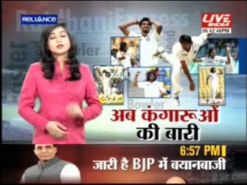 Live India News - Ishant Sharma - 4 February 2013