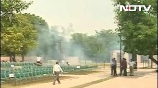 राष्ट्रीय स्मृत स्थल पर अंतिम संस्कार की तैयारियों की झलक - NDTVINDIA