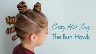 The Bun Hawk Crazy Hair Day Hairstyles Hairstyles Braids