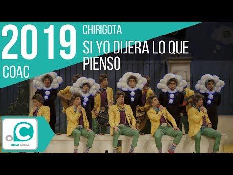 La agrupación Si yo dijera lo que pienso llega al COAC 2019 en la modalidad de Chirigotas. En años anteriores (2015) concursaron en el Teatro Falla como ¡OBDC chocho!, consiguiendo una clasificación en el concurso de Cuartos de final.