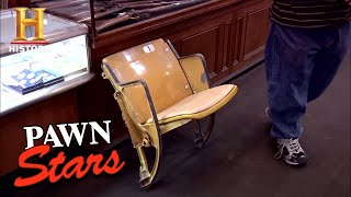 Pawn Stars: Seat from Dodger Stadium (Season 7) | History - HISTORYCHANNEL