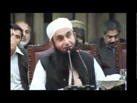 Maulana Tariq Jameel at Punjab University on 10-03-2011 6/8
