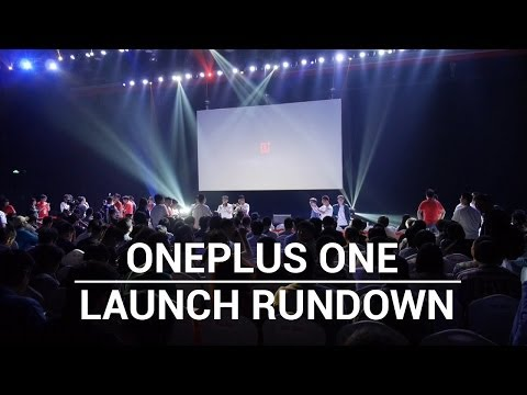 OnePlus One Launch Event - The Rundown