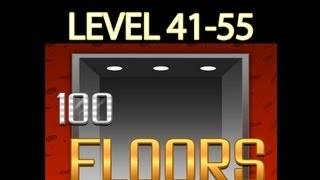 100 Floors Walkthrough Levels 41 55 Game Walkthrough
