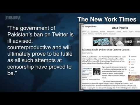 Pakistan Blocks Twitter Over 'Offensive' Cartoons