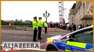 🇬🇧 Car crash outside UK's parliament treated as terrorist attack | Al Jazeera English - ALJAZEERAENGLISH