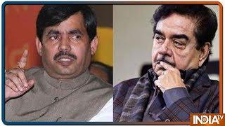 BJP ने बड़े बड़े नेताओं को दिया ज़ोर का झटका, Shatrughan Sinha और Shahnawaz Hussain का टिकट कटा ! - INDIATV