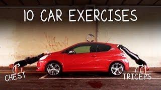 فيديو: 10 تمارين رياضية يمكنك أن تمارسها بسيارتك دون الذهاب إلي النادي