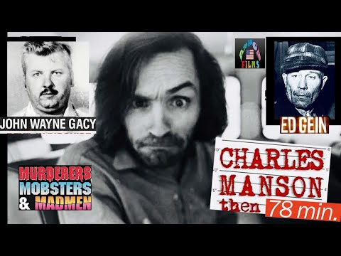 Charles Manson Then and Now 1992 documentary movie, default video feature image, click play to watch stream online
