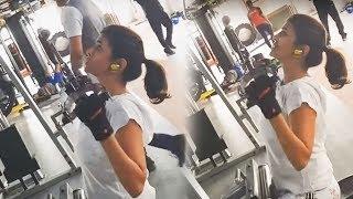 Manchu Lakshmi Workout Video - RAJSHRITELUGU
