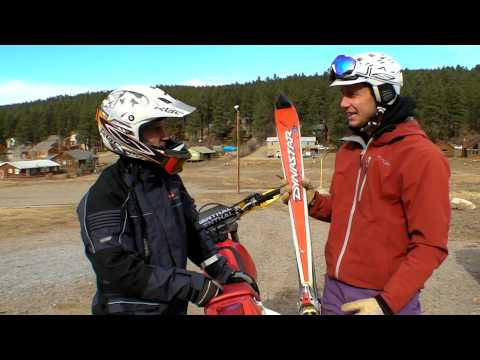Dirtbike Skiing | How to Ski without Snow