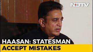 'Salaam No 2 For PM Modi If He Apologises For Notes Ban': Kamal Haasan - NDTV