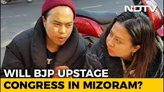 Parties Step Up Campaigns In Mizoram - NDTV