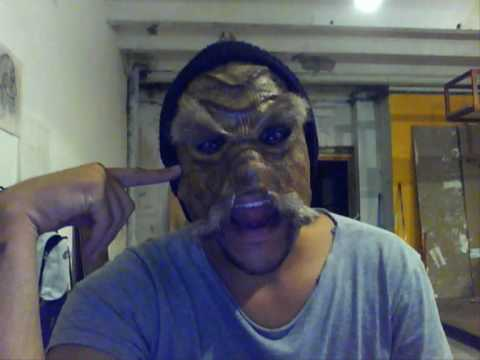 Máscaras en papel maché
