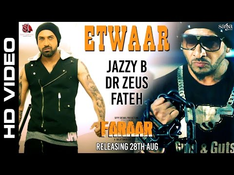 <p>@Jazzy B &amp; @GippyGrewal di Collabration &nbsp;#ETWAAR from the upcoming punjabi movie #Faraar</p>