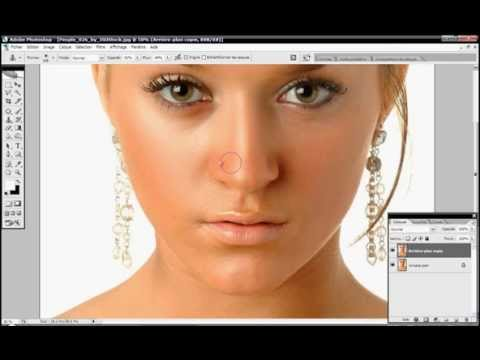 perfect smooth skin : photoshop tutorial
