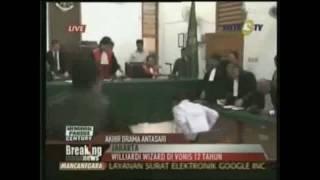 Wiliardi Wizar divonis 12 Tahun Penjara oleh PN Jaksel view on youtube.com tube online.