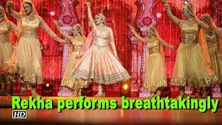 Pakeezah to Umaro Jaan - Rekha performs breathtakingly  | IIIFA 2018 Awards - IANSINDIA