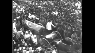 مقطع نادر لجنازة سعد زغلول