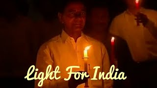Telangana CM KCR Participates In Light For India - TFPC