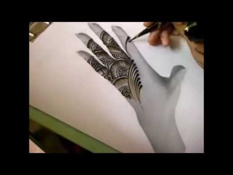 Mehndi Designs : Beautiful Arabic Mehndi Design