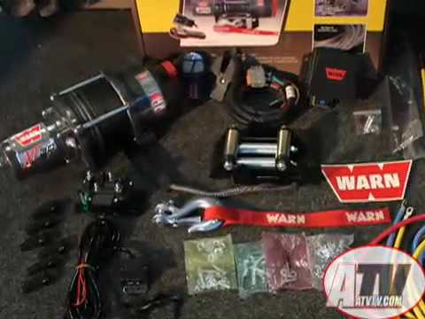 ATV Television Product Review - Warn XT 30 Winch Kit