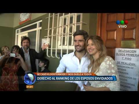 Telefe Noticias - Se casó Marcela Kloosterboer - Full HD