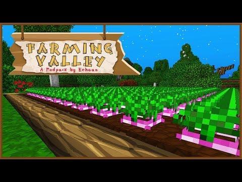 Minecraft Farming Valley - Turnips = $$$! #2 [Mini Series]