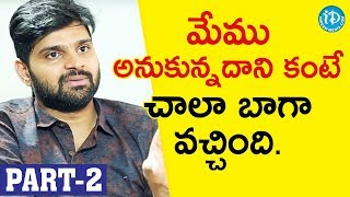 Needi Naadi Oke Katha Actor Sree Vishnu Interview Part #2 || Talking Movies With iDream #687 - IDREAMMOVIES
