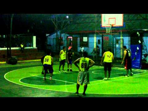 RAKERS BASKETBALL - 6/7/13 - GROUP 1 VS GROUP 3 - 2ND QUARTER
