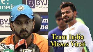 Asia Cup 2018 | Team India misses Virat, says Kedar Jadhav - IANSINDIA