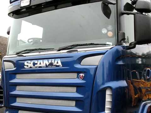 Scania Topline V8 airbrush artwork 1
