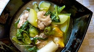 How to cook Chicken Tinola – Ulampinoy