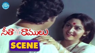 Seetha Ramulu Movie Scenes - Krishnam Raju Marries Jayaprada || Krishnam Raju, Jayaprada - IDREAMMOVIES