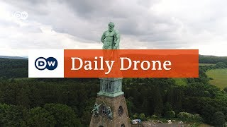 #DailyDrone: Hercules Monument | DW English - DEUTSCHEWELLEENGLISH