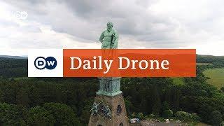 #DailyDrone: Hercules Monument | DW English - DEUTSCHEWELLEENGLISH