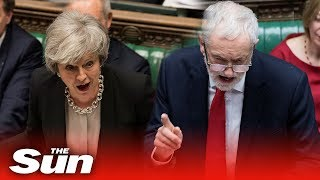 PMQs: May vs Corbyn - THESUNNEWSPAPER