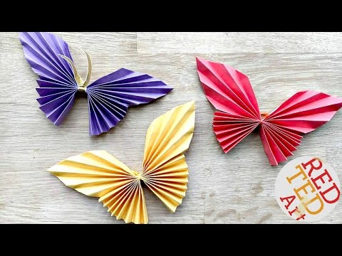 Easy Paper Butterfly Origami - Cute
