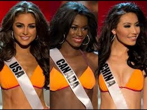 [HD] 19 Dec 2012 - Miss Universe 2012 TOP 5 Finalists Question & Answer Portion