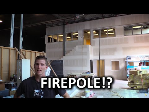 New Office Vlog 5 - #Firepole?