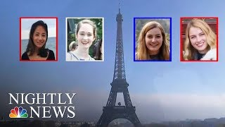 American College Students Recovering From Acid Attack | NBC Nightly News - NBCNEWS
