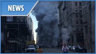 "BREAKING: ""Explosion"" reported in New York - THESUNNEWSPAPER"