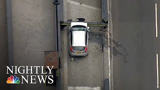 Car Crashes Near Parliament In London 'Terrorist Incident' | NBC Nightly News - NBCNEWS