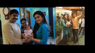 Comedian Srinivas Reddy With His Daughters Photos   Comedian Srinivas Reddy Family - RAJSHRITELUGU