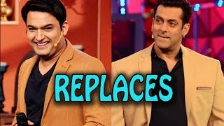 Salman Khan temporarily replaced by Kapil Sharma for his reality show